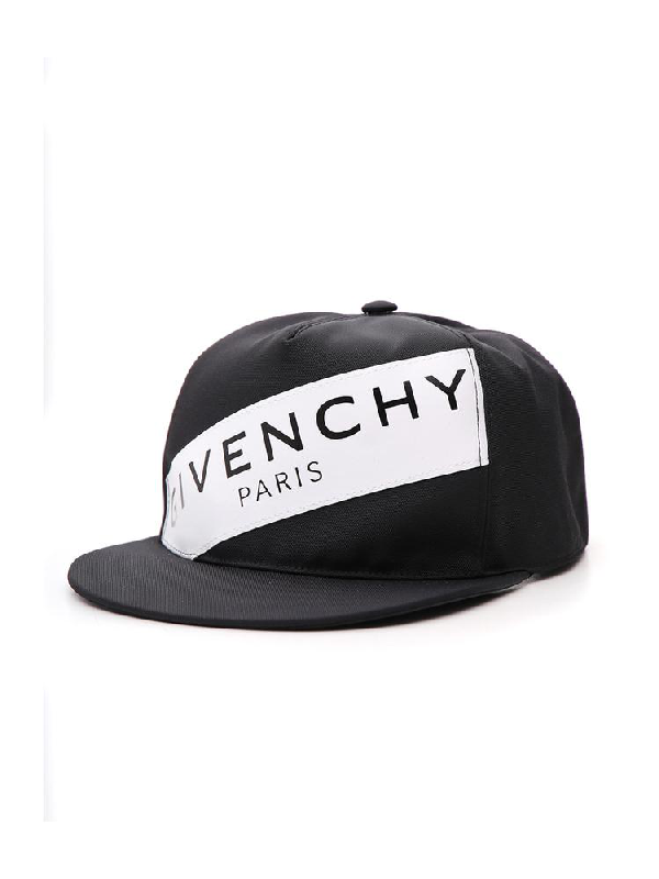 2094fc348f6 Givenchy Logo Band Hat In Black