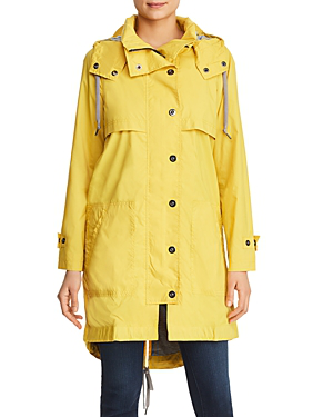 3b80a5e06 Annie Hooded High/Low Jacket in Curry