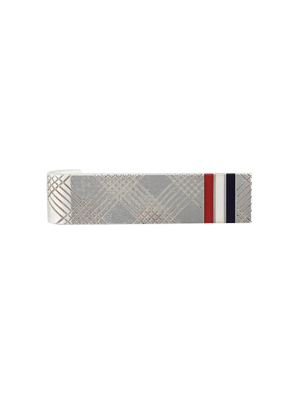 642fa71c603b Thom Browne 4-Bar Rwb Short Silver Tie Bar   ModeSens