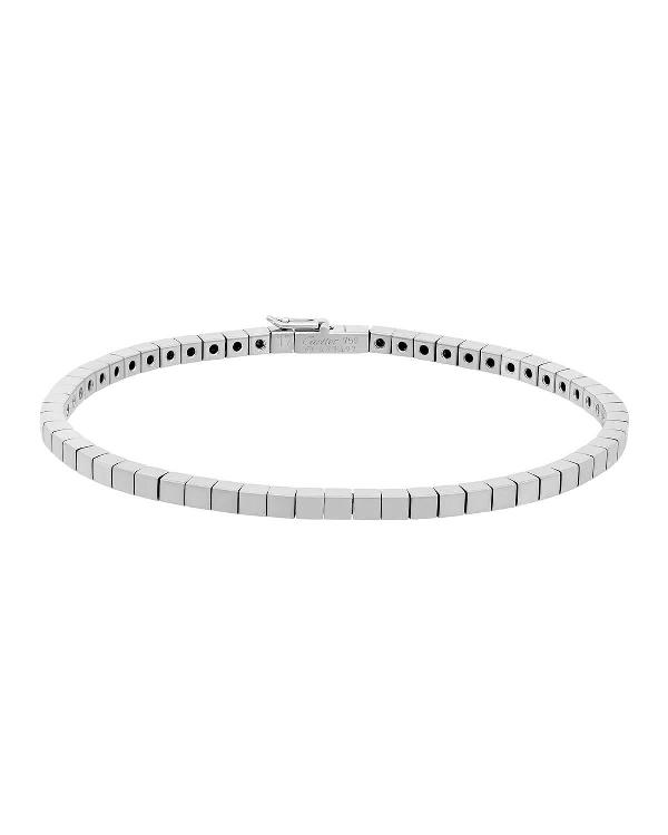 e493d780a863a Estate 18K White Gold Lanieres Bracelet in Silver