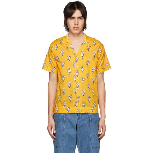 54dffc2d656 Jacquemus Yellow  La Chemise Manches Courtes  Shirt
