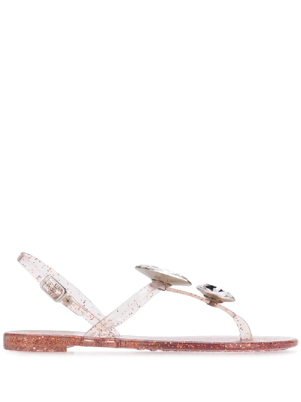f0813a32d Casadei Jelly Sandals - White