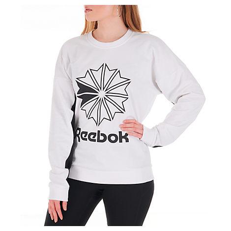 REEBOK Women Relaxed Fit Sweatshirt Jumper