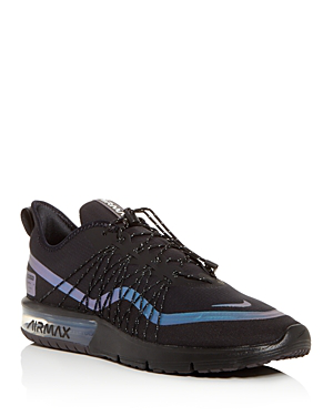 960e16e1275 Nike Men s Air Max Sequent 4 Shield Running Sneakers From Finish Line In  Black Racer