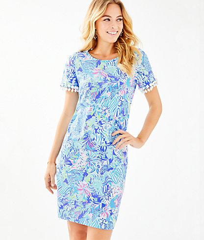 61720fde685024 Lilly Pulitzer Lissie Dress In Coastal Blue Lion Around   ModeSens