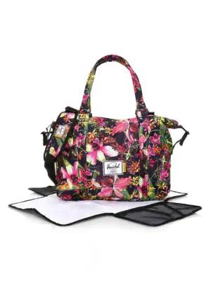 Strand Floral Print Srout Diaper In Multi Bag ucl3TF1KJ