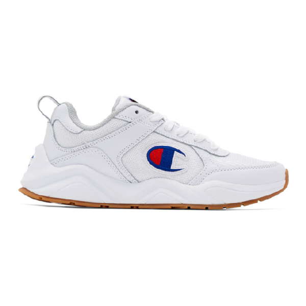 032ace64d9afb Champion Reverse Weave White 93Eighteen Classic Sneakers
