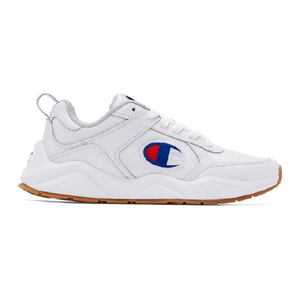fad979bfc7e Champion Reverse Weave White 93Eighteen Classic Sneakers