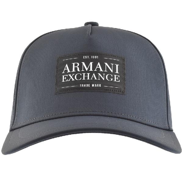 e830b11316236 Armani Exchange Logo Cap Navy