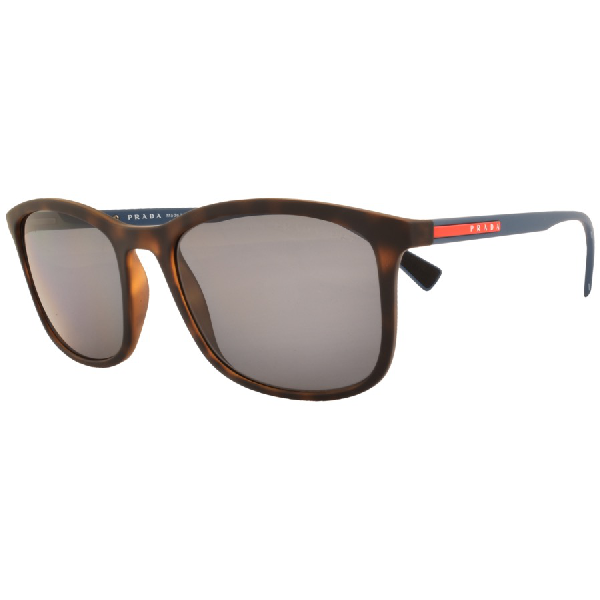 087d055195d2 Prada Linea Rossa 01Ts Sunglasses Brown In Brown/Grey Polar | ModeSens