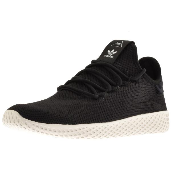 6b14616b73683 Adidas Originals Adidas X Pharrell Williams Tennis Hu Trainers In Black