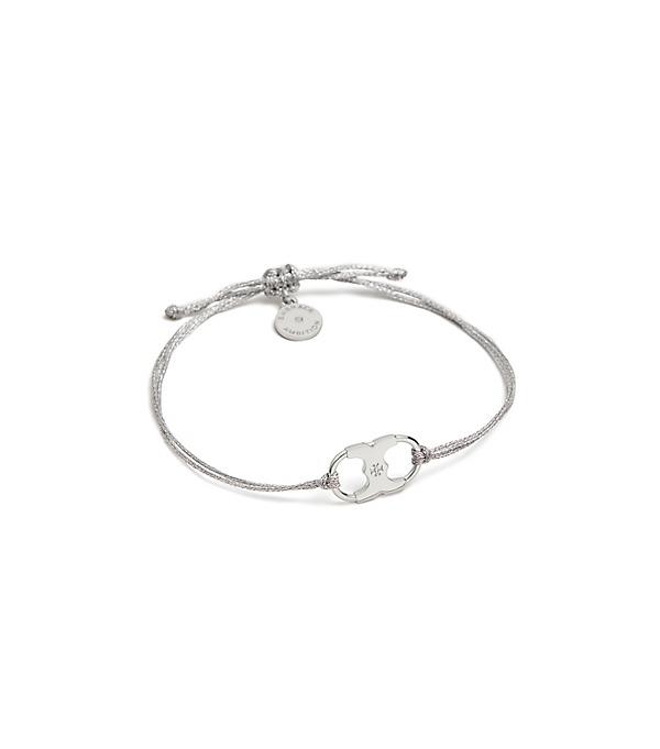 633ac2d6f4f45 Embrace Ambition Bracelet in Silver / Tory Silver