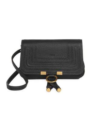 d4e033bc Marcie Leather Belt Bag in Black