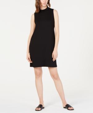 e1a8ae2b0bc Eileen Fisher Mock-Neck Slim Tencel Dress