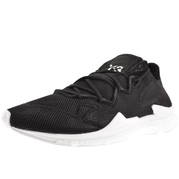529fccd4d Y-3 Adizero Runner Neoprene-Trimmed Mesh Sneakers In Black