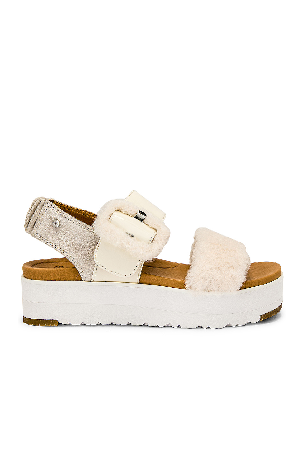 811ee7f5ed Ugg Women's Le Fluff Platform Sandals In Jasmine | ModeSens