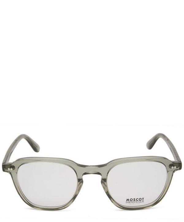 41c15c586b9a Moscot Billik Square Acetate Glasses In Green