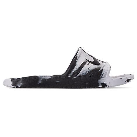 50e7c6db7a3c Nike Men s Kawa Shower Marble Slide Sandals