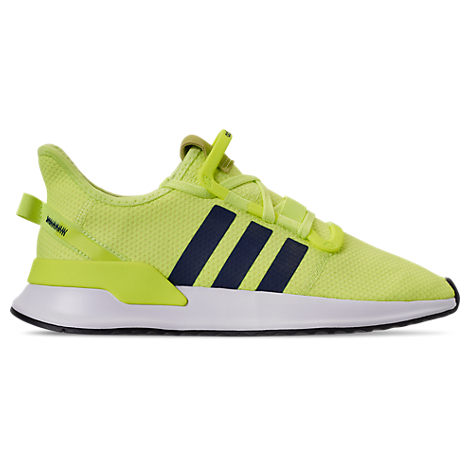 Adidas Men's U Path Run Casual Sneakers From Finish Line in Hi Res YellowCollegiate