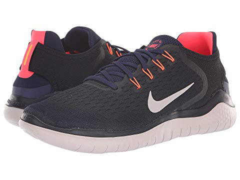 0c4676b91d6c Nike Men s Free Run 2018 Running Sneakers From Finish Line In Black Moon  Particle-