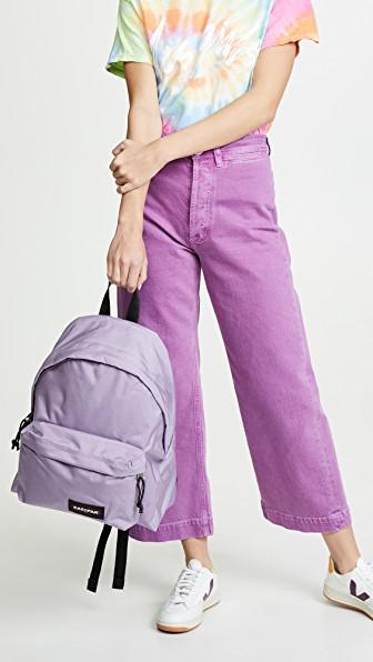 e70938c953c Eastpak Padded Pak'R Backpack In Lilac Flower | ModeSens
