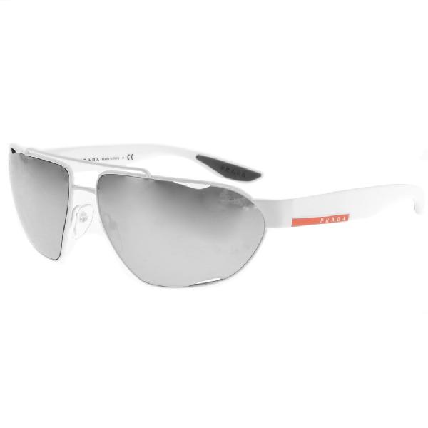 813938301d9e Prada Linea Rossa Sunglasses White. Mainline Menswear
