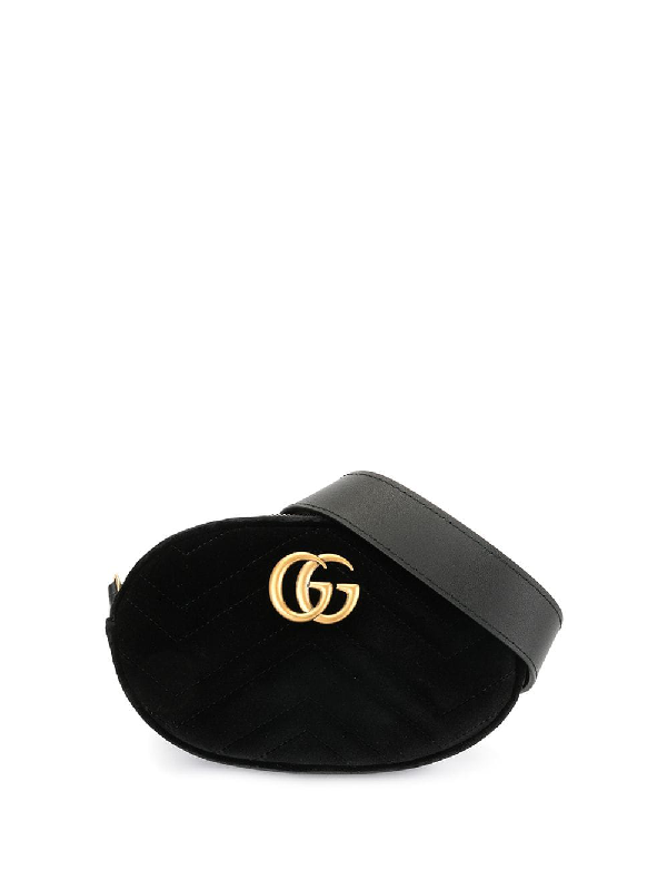 ungleich in der Leistung auf großhandel heißer verkauf billig Gucci 'Marmont' Gürteltasche - Schwarz in Black