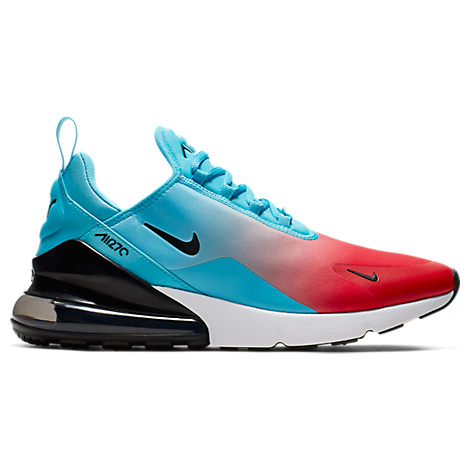 save off d4b32 affa0 Men's Air Max 270 Casual Shoes, Blue - Size 10.5