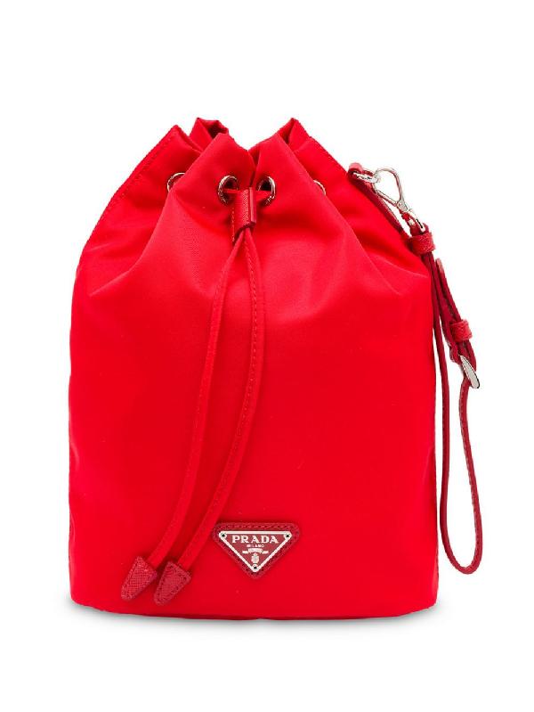 789d30cc587b4f Prada Klassische Beuteltasche - Rot In Red | ModeSens