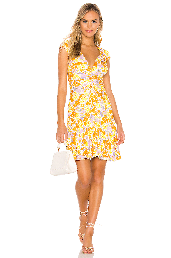 dc5850d1c106 Free People Key To Your Heart Floral Minidress In Ivory | ModeSens