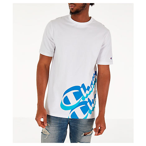 320814608c80 Champion Men s Panel Script T-Shirt