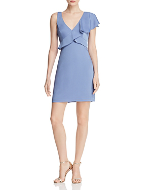 10a2864fd9 Bcbgmaxazria Ruffled Cocktail Dress - 100% Exclusive In Misty Blue ...