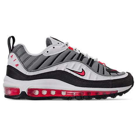 Air White Women's 98 Max Shoes Casual Nike Modesens T7q5OYx