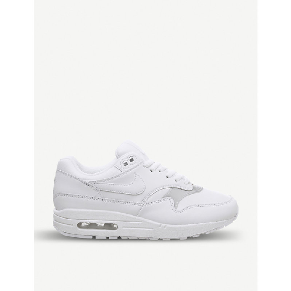 1 Leather F In White Max Air Trainers PkZiXu