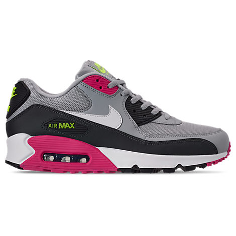 best sneakers 91f12 57f41 Nike Men s Air Max 90 Essential Casual Sneakers From Finish Line In Wolf  Grey White