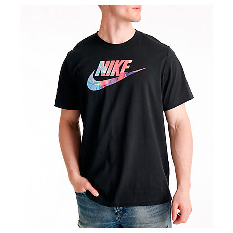 db5c9b375dfb Nike Men's Sportswear Story T-Shirt, Black - Size Large | ModeSens