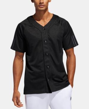Adidas Originals Adidas Men's Baseball Jersey In Black | ModeSens