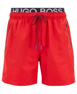 b078d81a8 Hugo Boss Boss Men's Thornfish Quick-Drying Swim Shorts In Bright Red