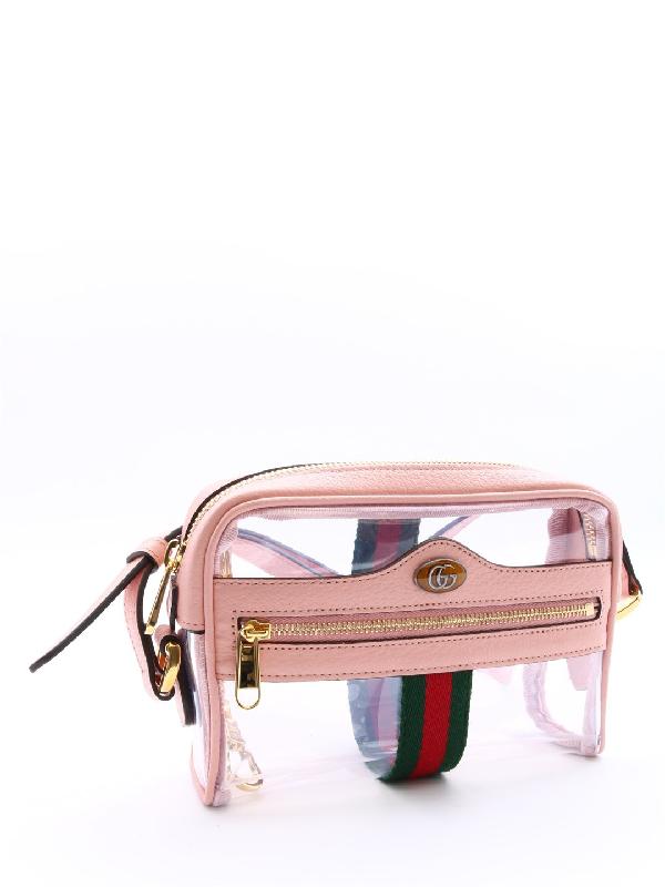 4778be40a Gucci Ophidia Mini Transparent Shoulder Bag In Multi | ModeSens