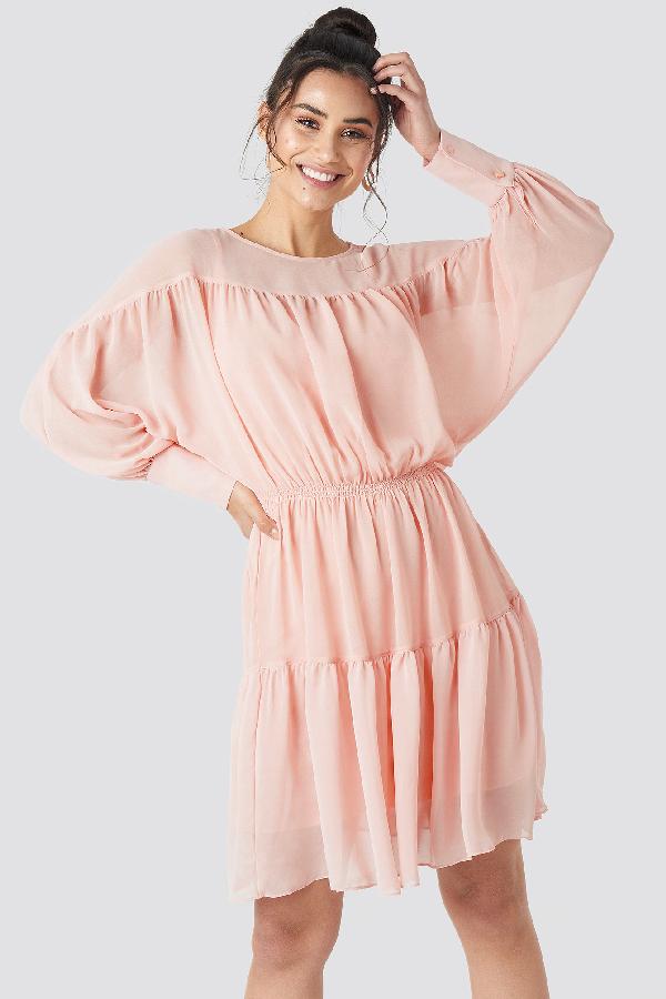 6ad947cf1b Trendyol Yol Pleated Mini Dress Pink | ModeSens