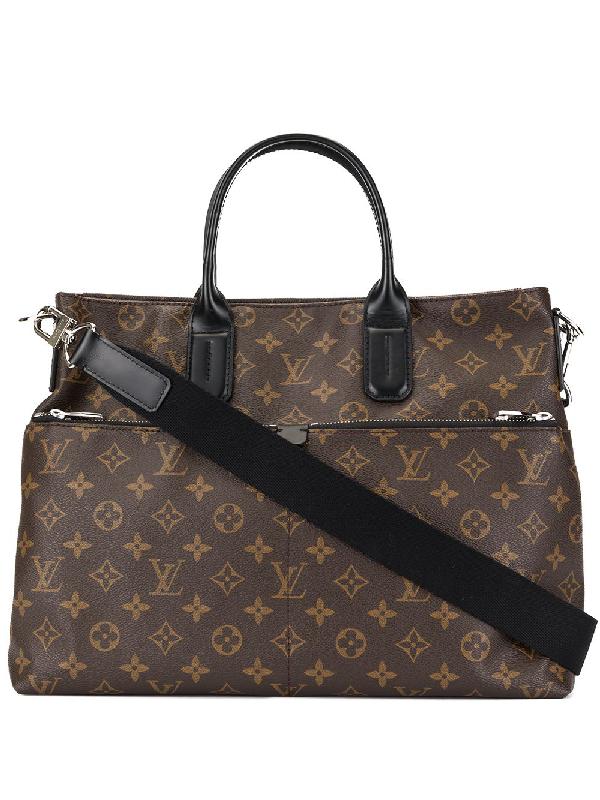 123f691d8216 Louis Vuitton Pre-Owned Macassar Tote Bag - Brown | ModeSens