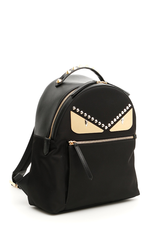 818fcbc7774b Fendi Classic Bag Bugs Backpack In Black