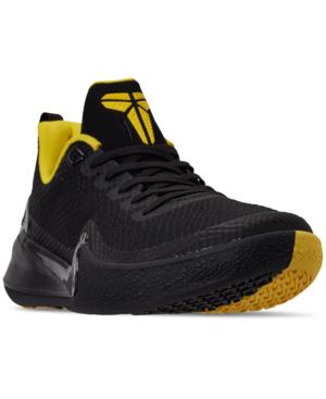 buy popular f75e0 1778e Nike Men s Mamba Rage Basketball Sneakers From Finish Line In Black Black -Anthracite-