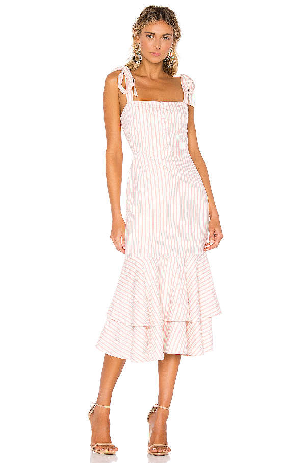 2bdcd762146c Lovers+Friends Lovers + Friends Wisdom Midi Dress In Blush | ModeSens