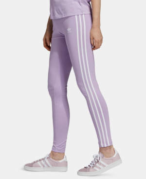 5b464358d1b Adidas Originals Triple Stripe Leggings In Purple Glow | ModeSens