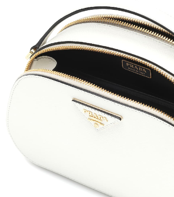 c9060bcafd05 Prada Lux Saffiano Rounded Satchel Bag In White | ModeSens