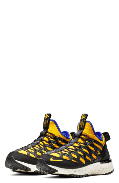 huge discount f8796 77165 Nike Acg React Terra Gobe Ripstop Sneakers - Yellow