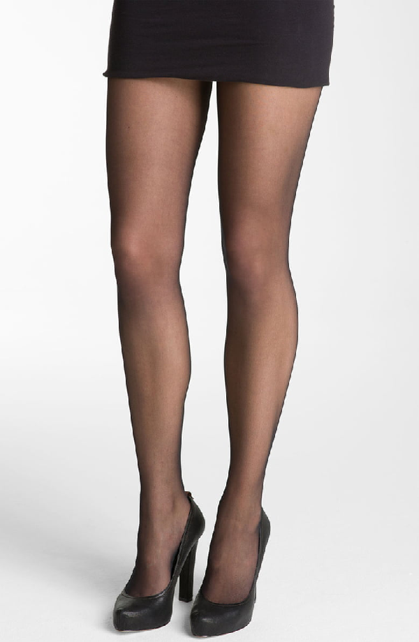 c7524754dd4 Wolford Individual 10 Sheer Tights In Black