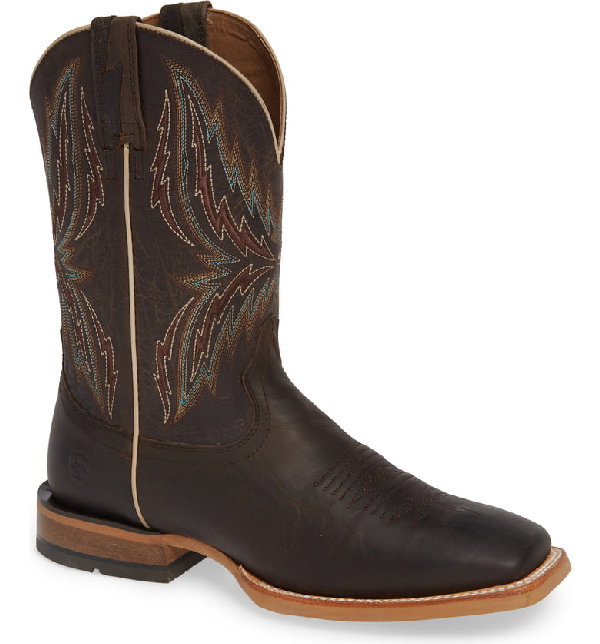 469c3ac0281 Arena Rebound Cowboy Boot in Brown/ Desert Leather
