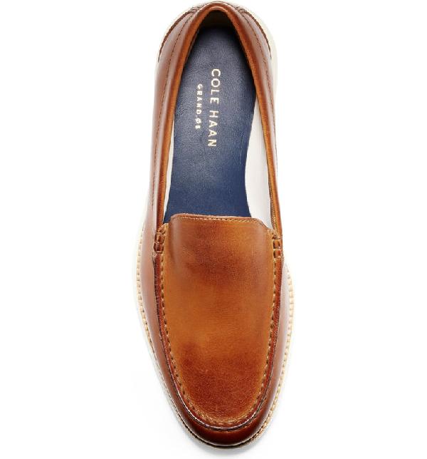 9610199223 Cole Haan Men's Original Grand Venetian Loafers Men's Shoes In British Tan  Leather